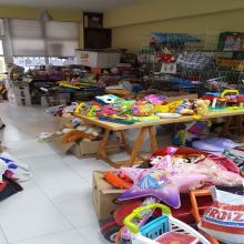 Neste tempo téñense recollido unha gran cantidade de xoguetes, e tamén entregadose os xoguetes a xente mais necesitada do Barrio