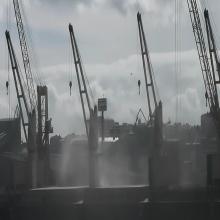 14 outubro volveron a verse lamentable espectáculo ca descarga do barco PUTUO HAI