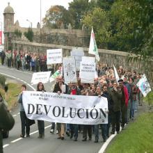 O sábado 10 de novembro, a partir das 12.00 sairá: 5ª Marcha Cívica pola Devolución do pazo de Meirás ao patrimonio público