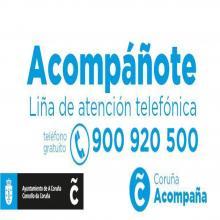 A Concellaría @coruna_social do @ConcelloCoruna pon en marcha un teléfono de balde de acompañamento para combater a soidade nos fogares.