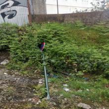 Os veciños do barrio denunciaron a falta de limpeza, de mantemento e maleza, señais de trafico no chan na Rua Vaamonde Lores. A Asociación xa presentou unha reclamación no concello