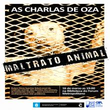Dende o colectivo veciñal para concienciar a veciñanza contra o mal trato animal imos celebrar unha charla baixo ou lema contra o mal trato animal, dereitos dous animais, lexilación actual.