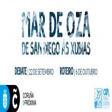 MAR DE OZA é un proxecto participativo organizado pola Asociación veciñal Oza Gaiteira Os Castros, que busca abrir un debate ao redor do futuro do litoral do barrio