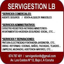 Servicios Comerciales, Administrativos y Reparaciones